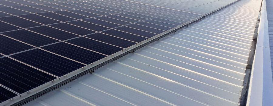Instalación fotovoltaica en local industrial en Zaragoza