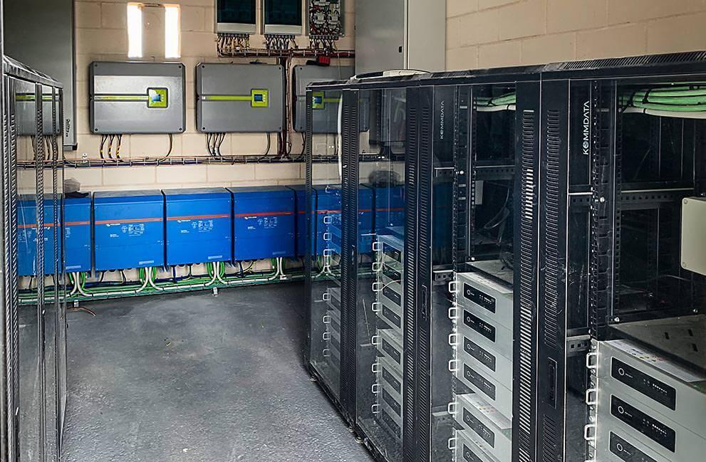 Instalación fotovoltaica en bodega aislada de la red en Aldeanueva de Ebro