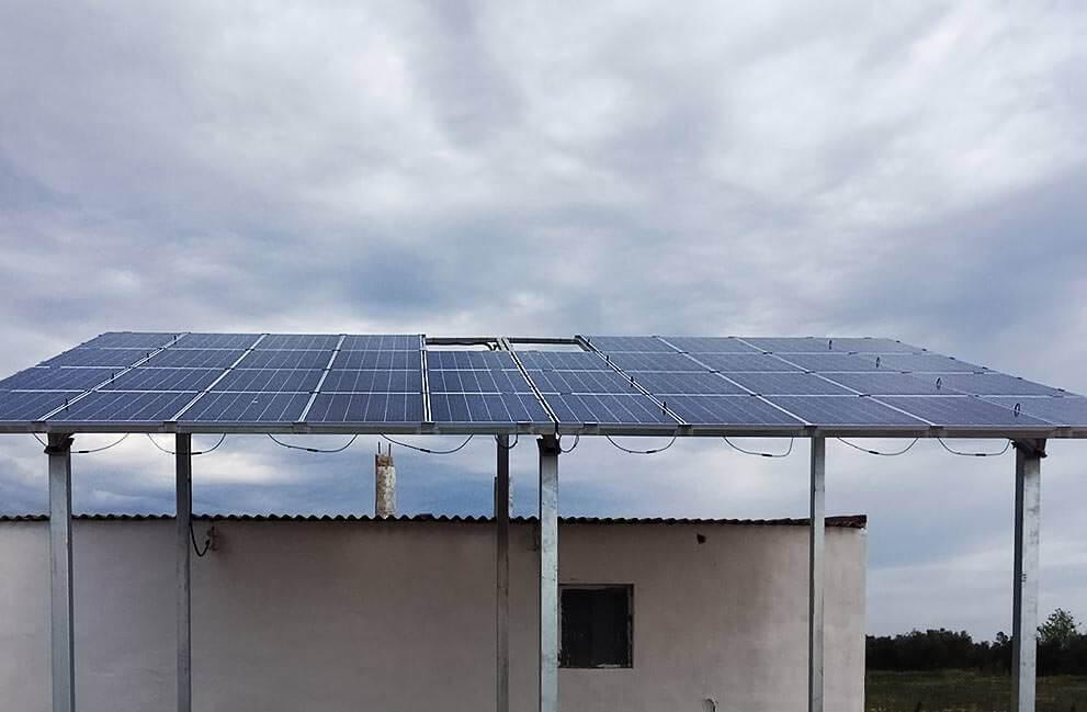 Instalación fotovoltaica de bombeo solar para regadío en Benicarló 1