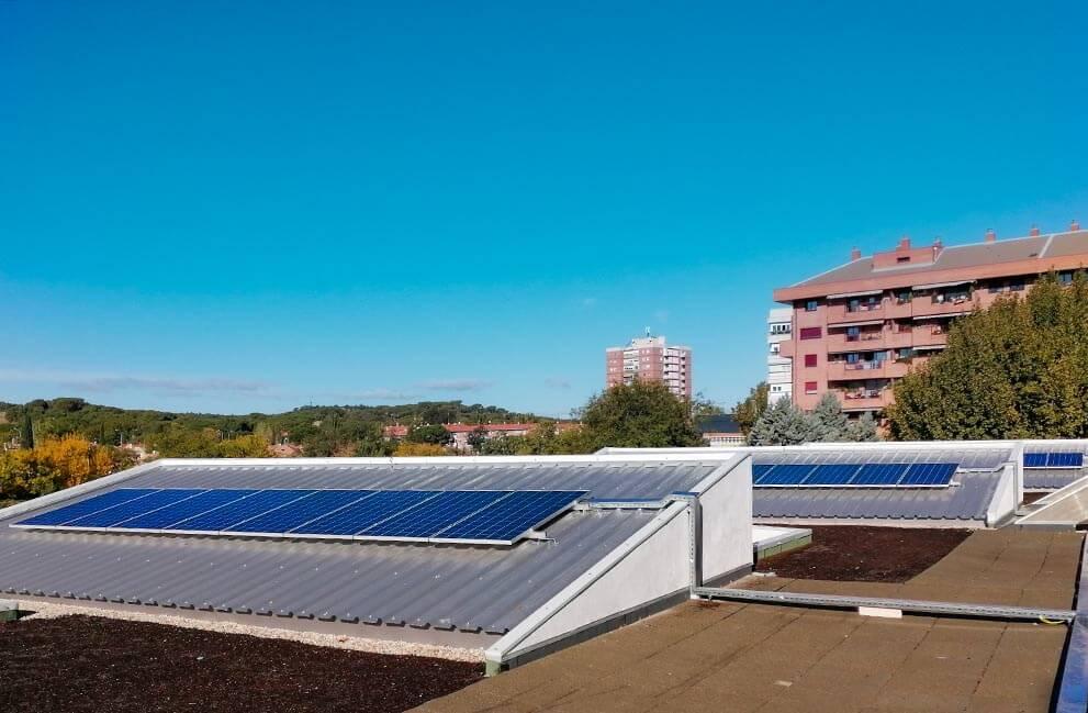 Instalación fotovoltaica en colegio de Madrid