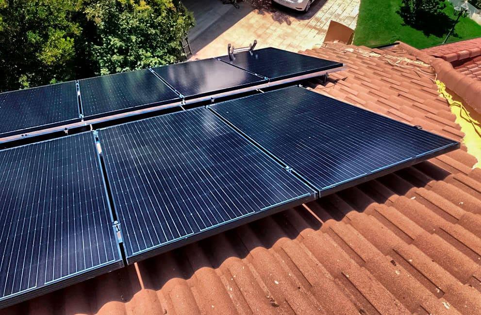 Instalación fotovoltaica en vivienda de Madrid
