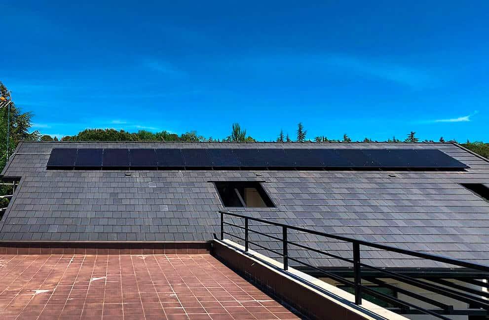 Instalación fotovoltaica en vivienda en Madrid