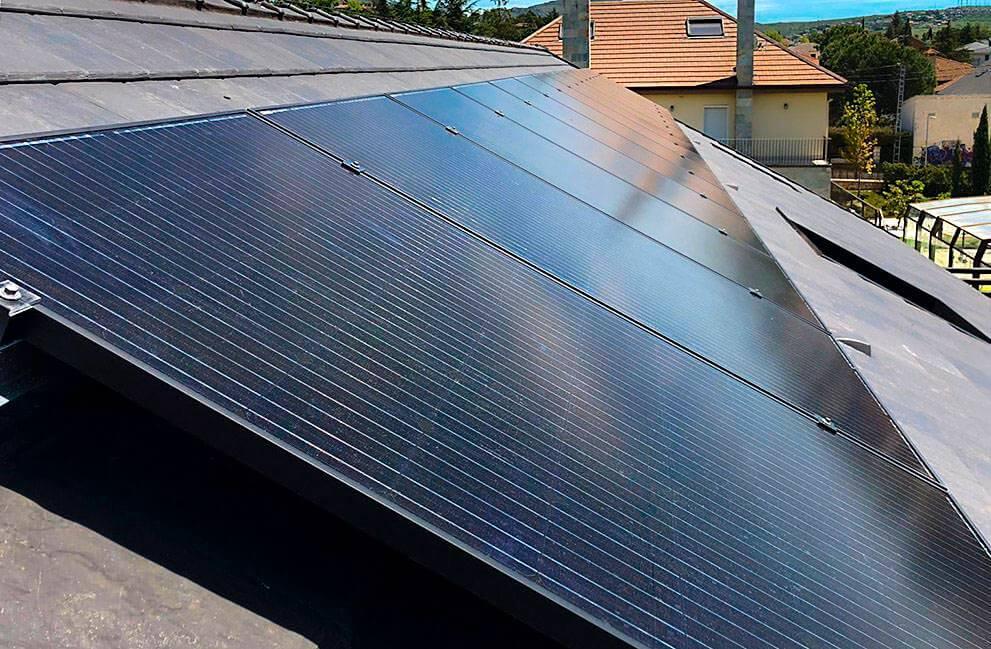 Instalación fotovoltaica en vivienda en Madrid 2