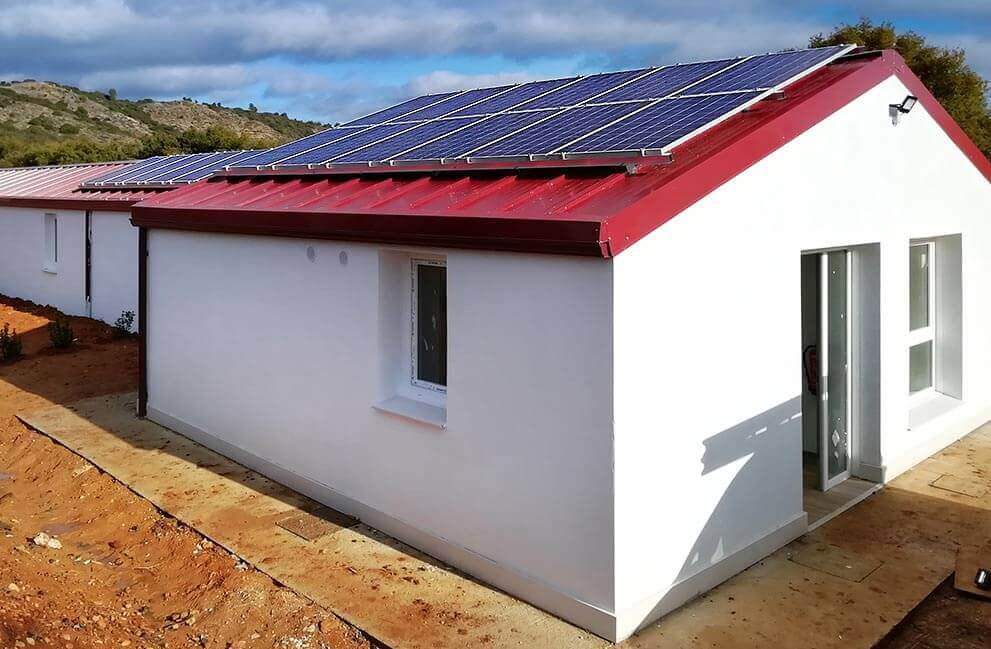 Instalación fotovoltaica aislada guardería canina en Ayegui