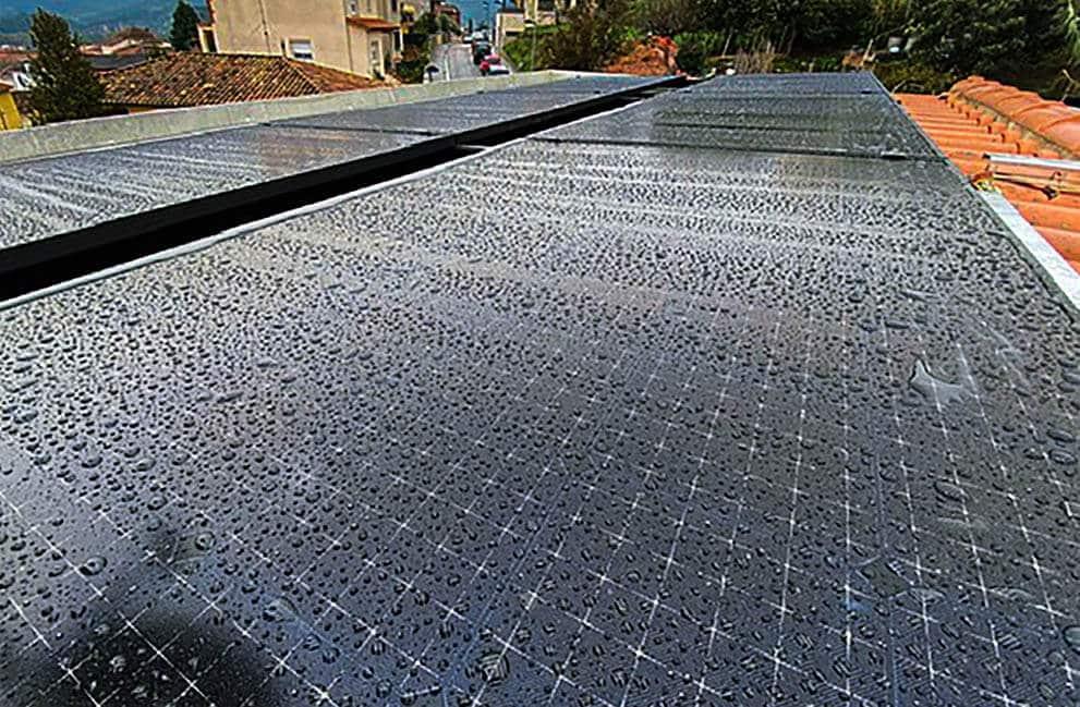 Instalación fotovoltaica en vivienda unifamiliar en Sant Celoni