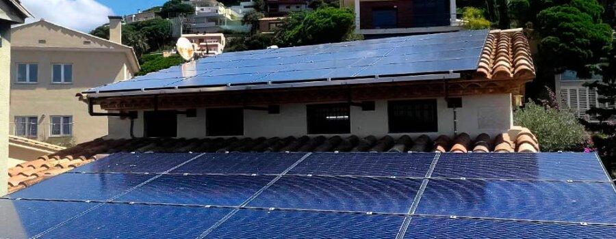 Instalación fotovoltaica con aerotermia en vivienda unifamiliar en Blanes 2