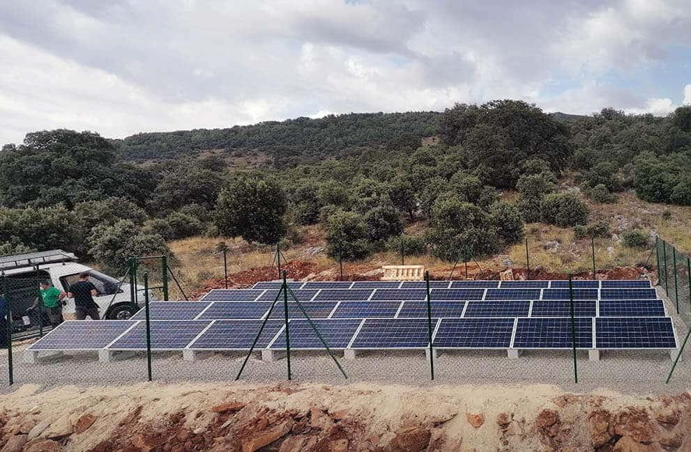 Instalación Bombeo Solar Grandoso-2