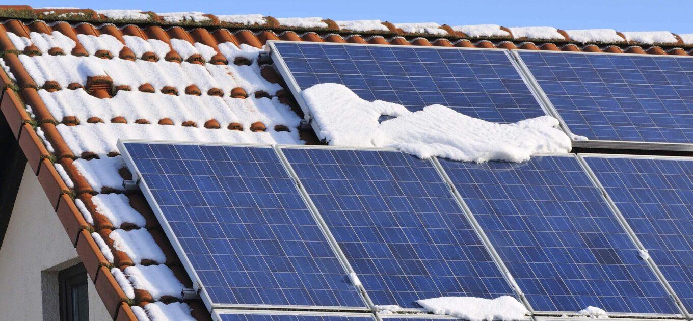 Producción Fotovoltaica en invierno