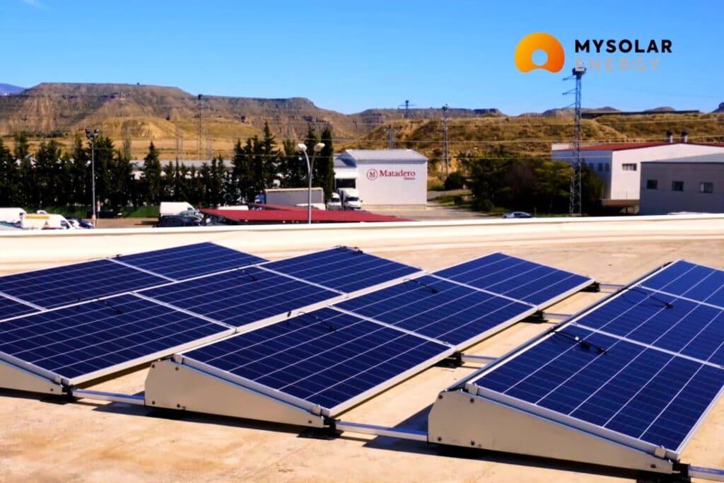 Instalación fotovoltaica en Saltoki
