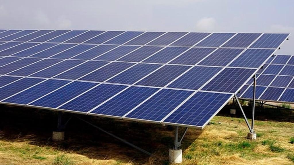 Inclinación para los paneles solares