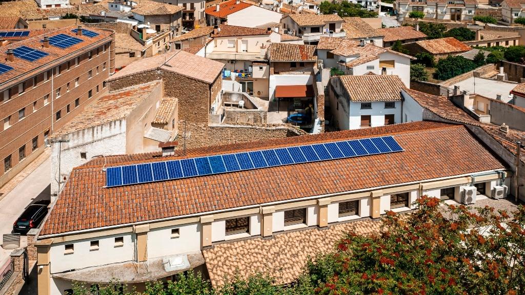 Proyecto fotovoltaico en Artajona.