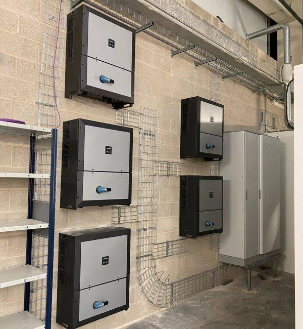 Instalación placas solares en panificadora en Madrid 3