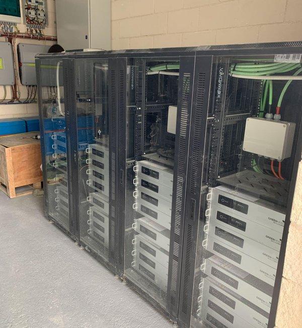 Instalación fotovoltaica en bodega aislada de la red en Aldeanueva de Ebro 3