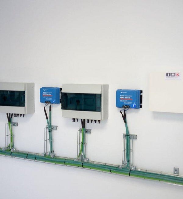 Instalación de fototermia en edificio en Barcelona 2