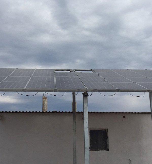 Instalación fotovoltaica de bombeo solar para regadío en Benicarló