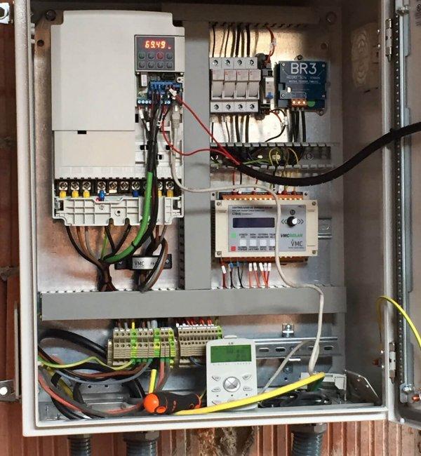 Instalación fotovoltaica de bombeo solar para regadío en Benicarló 2