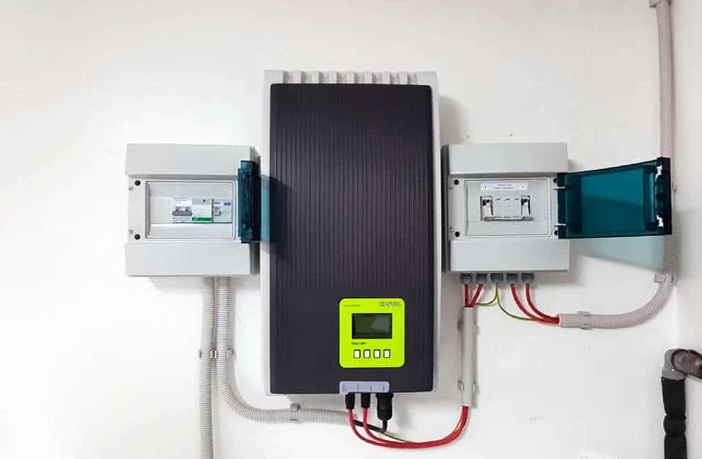 Instalación fotovoltaica con aerotermia en vivienda de Vitoria 2