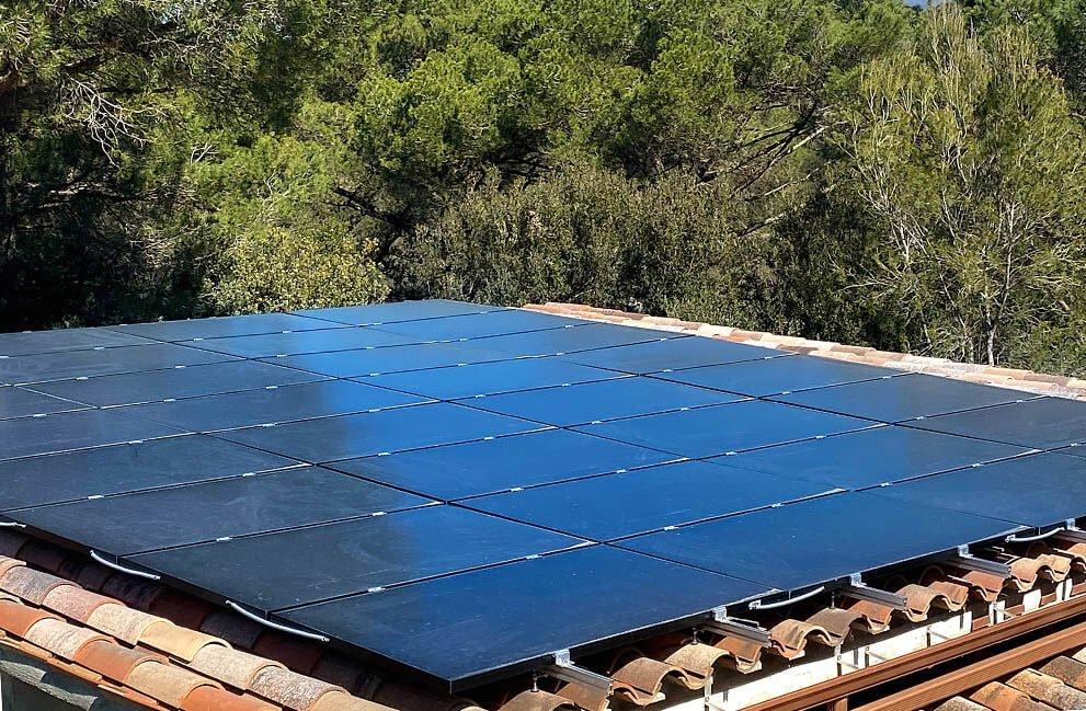 Instalación fotovoltaica en Sant Pere de Vilamajor 2