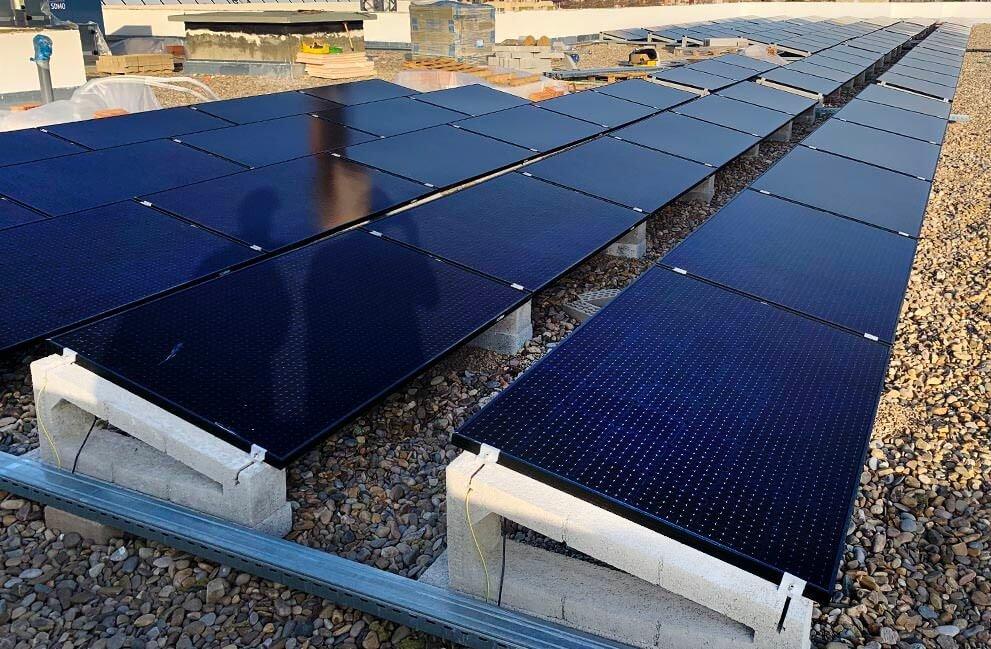 Instalación fotovoltaica en residencia de ancianos en Zaragoza