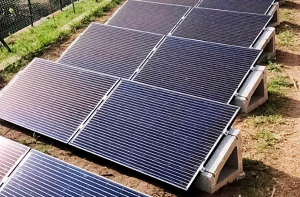 Instalación fotovoltaica en vivienda en Begur