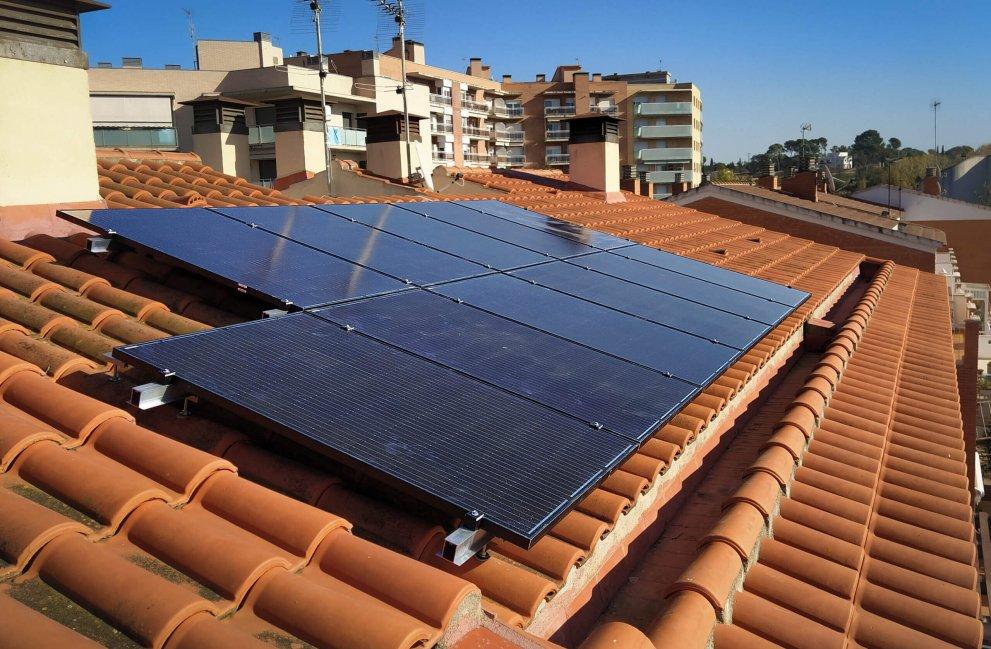 Instalación fotovoltaica en vivienda unifamiliar en Valls 2