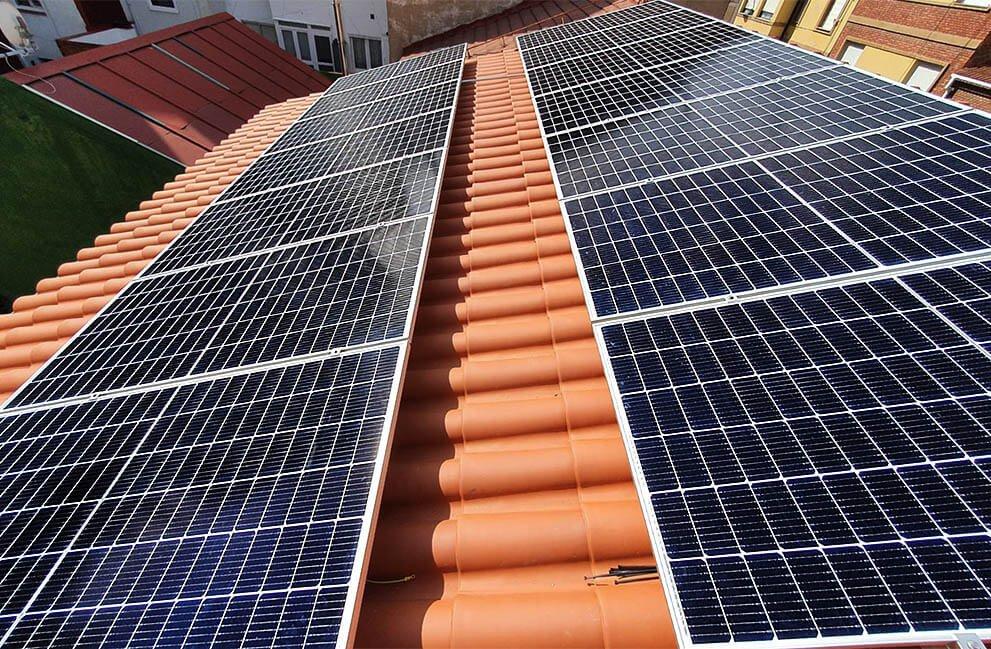 Instalación fotovoltaica en vivienda unifamiliar Passivhaus en León 3