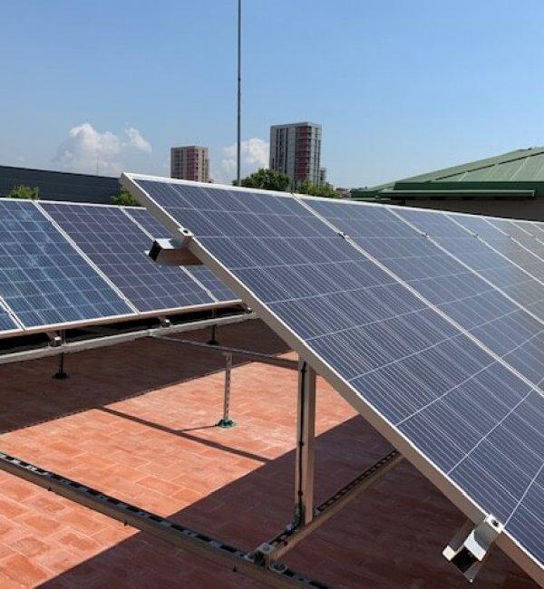 Instalación fotovoltaica en Instituto 2
