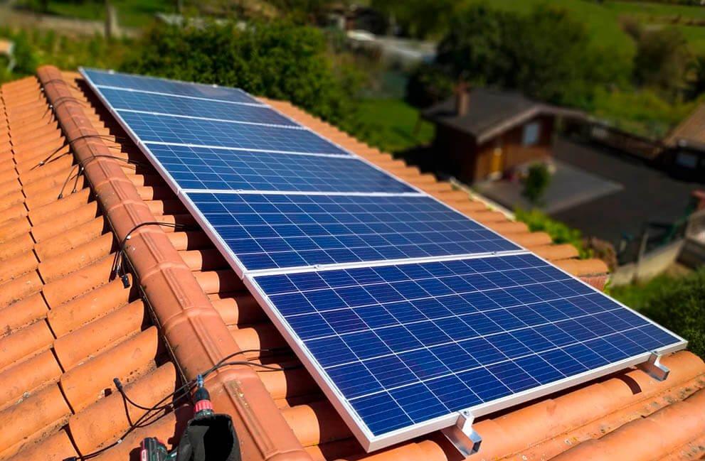 Instalación fotovoltaica en vivienda unifamiliar en El Berrón 2