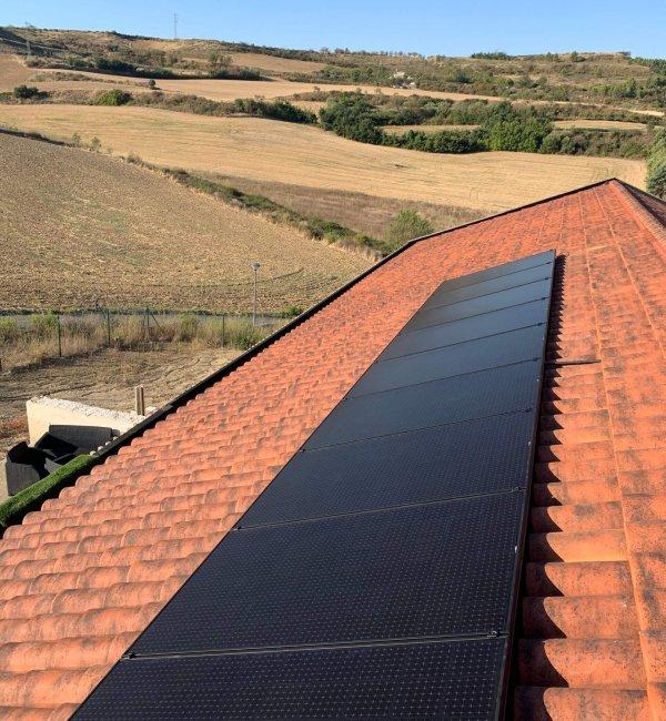 Fotovoltaica en Puente de la Reina 2
